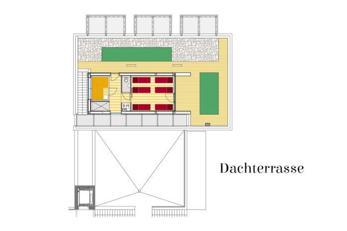 Appartements LUNA, Flachau - Dachterrasse