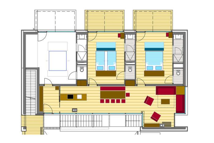 Ferienwohnunge Typ A - Appartements LUNA, Flachau