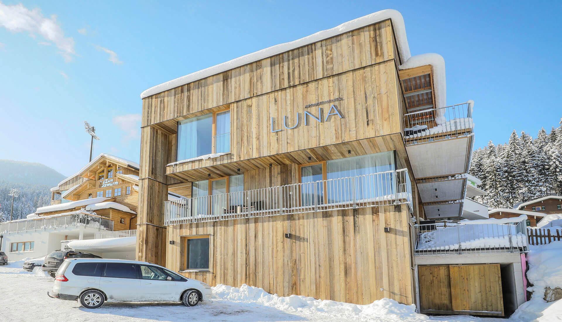 Ferienwohnungen in Flachau, Appartements LUNA