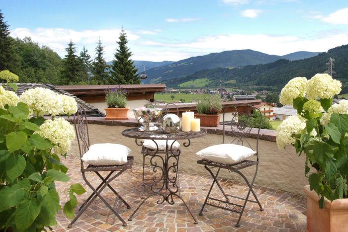 Doppelzimmer im Schlössl - Romantik-Unterkunft in Flachau