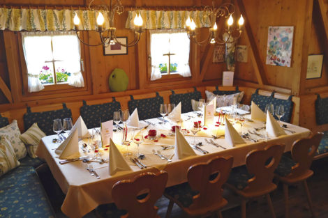 Hochzeitsessen - Zum Holzwurm, Restaurant in Flachau