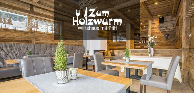 Restaurant in Flachau - Zum Holzwurm