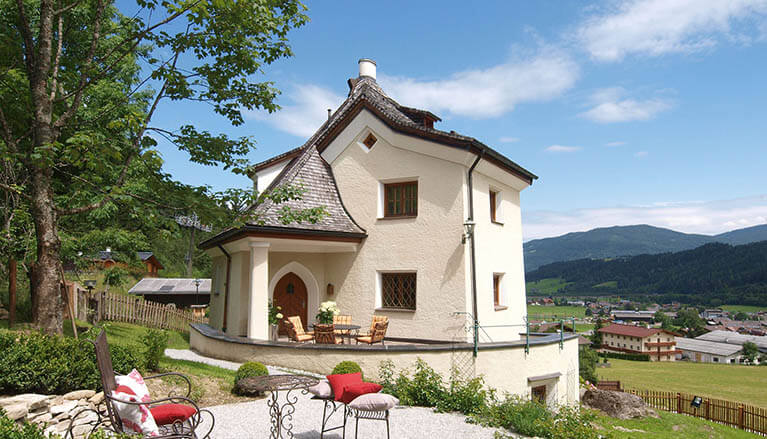 Romantik-Unterkunft in Flachau, s' Schlössl