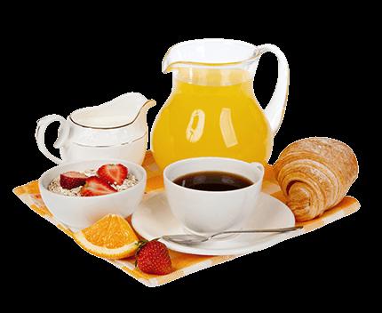 Schlemmerfrühstück in den Appartements LUNA, Flachau