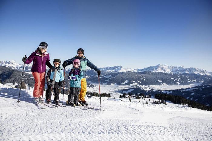 Skifahren im Skiurlaub in Flachau, Ski amadé